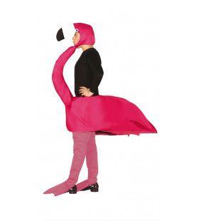 Sierlijke Flamingo Vogel Kostuum