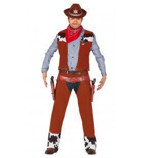 Rodeo Kampioen Cowboy Man Kostuum