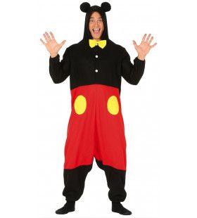 Muis Met Een Grote Rode Broek Mickey Kostuum