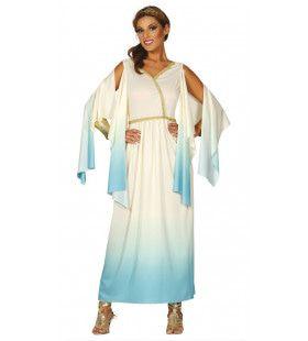 Griekse Schone Godin Agave Vrouw Kostuum