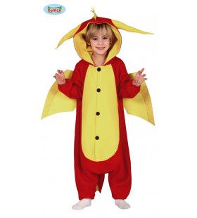 Vriendelijke Vrolijke Draak Kind Kind Kostuum