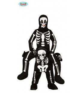 Haasje Over Geraamte En Skelet Kind Kind Kostuum