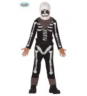 Fortnite Skull Trooper Game Kind Kostuum