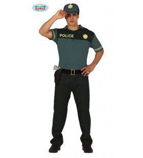Spaanse Politie Agent Guardia Civil Man Kostuum