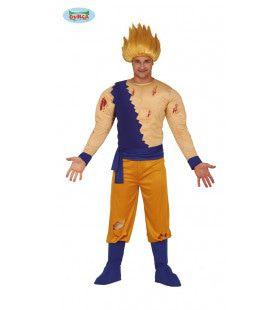 Dragonball Z Krijger Gohan Man Kostuum