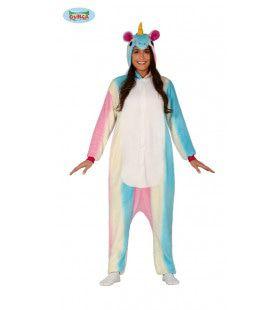 Zacht Eenhoorn Jumpsuit Vrouw Kostuum