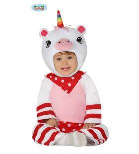 Vertederende Kleine Eenhoorn Meisje Kostuum