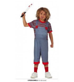 Geen Kinderspel Moord Pop Kind Kostuum