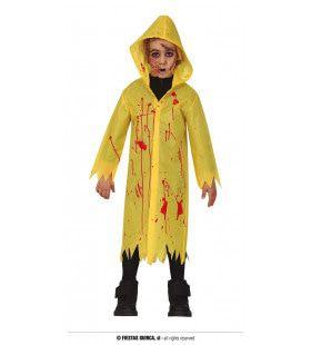 Het Regent Bloed Spetters Kind Kostuum
