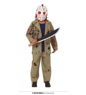 Vrijdag De Dertiende Moordenaar Jongen Kostuum