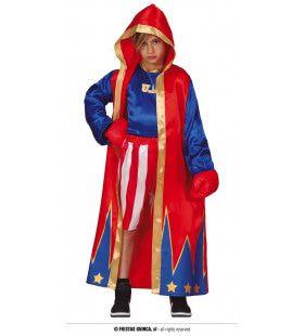 Wereldkampioen Legende Bokser Kind Kostuum