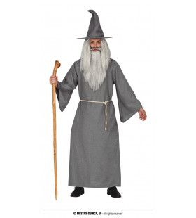 Grijze Tovenaar Van Het Oosten Man Kostuum