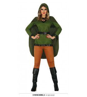 Pijlsnelle Boogschieter Richtgoed Vrouw Kostuum