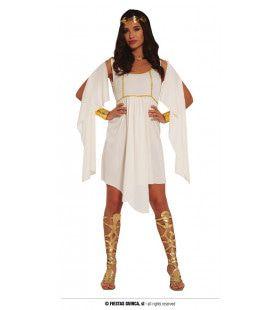Griekse Schoonheid Van Adel Vrouw Kostuum