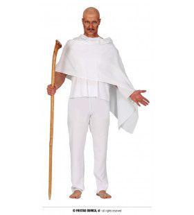 Strijder Van Geweldloosheid Ghandi Man Kostuum