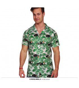 Hawaii Shirt Verborgen Toekan Man