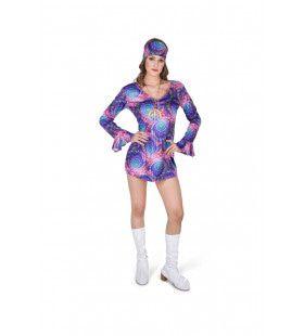 Boho Chic Hippie Chick Vrouw Kostuum