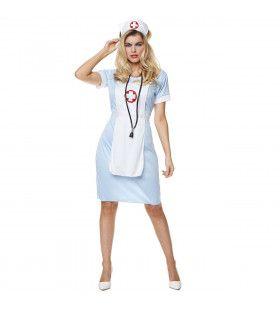 Ziekenhuis Nachtzuster Ursula Vrouw Kostuum