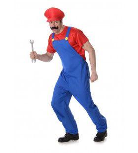 Mario Computerspel Broer Van Luigi Man Kostuum