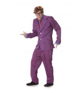 Super Geheim Agent Austin Man Kostuum