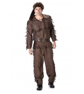 Pelsjager Canadese Wildernis Man Kostuum