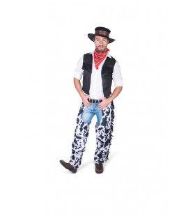 Ranch Hand Wilde Westen Cowboy Man Kostuum