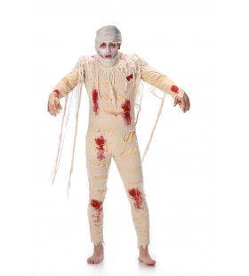 Kille Piramide Zombie Mummie Man Kostuum