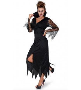 Slinkse Sluwe Heks Halloween Vrouw Kostuum