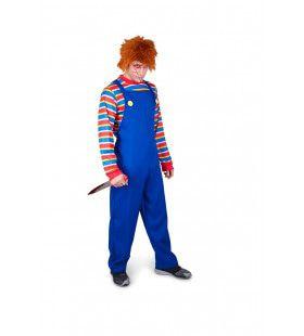 Moordlustige Pop Chucky Kostuum