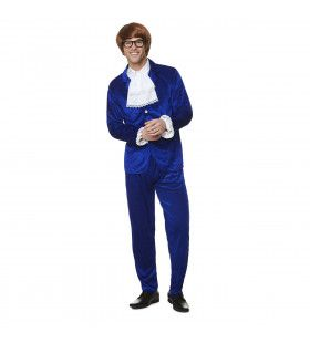 Austin Powers Super Spion Filmheld Man Kostuum
