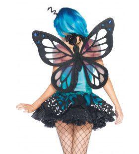 Prachtige Vlindervleugels Vrouw