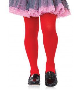 Meisjes Opaque Panty Rood