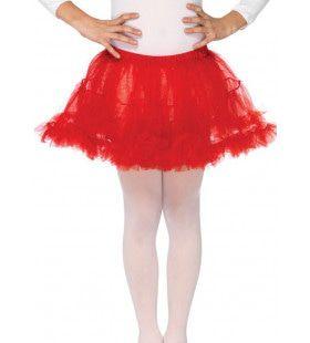 Meisjes Petticoat Rood
