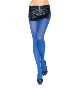 Nylon Panty Blauw