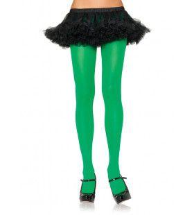 Nylon Panty Groen