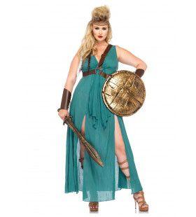 Romeinse Sexy Dames Strijder (Plus Size) Vrouw Kostuum
