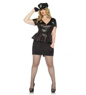 Sexy Verkeersagente Vrouw Kostuum