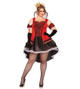 Sexy Venetiaanse Luxe Carnavalsjurk Plus Size Vrouw