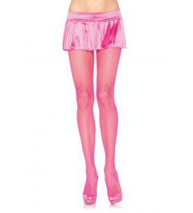 Nylon Visnet Panty Roze