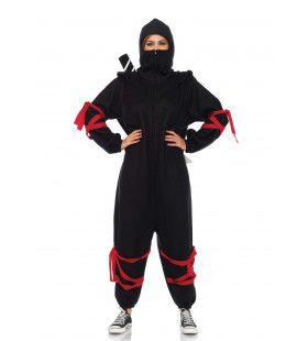Kigarumi Onesie Ninja Vrouw Kostuum