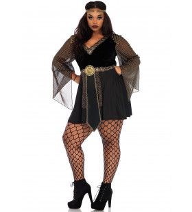 Schrik Van De Arena Gladiator Plus Size Vrouw Kostuum