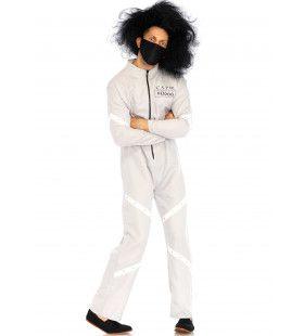 Psychisch Gestoorde Patient Man Kostuum