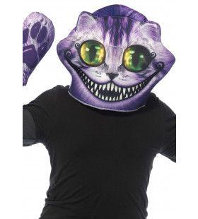 Cheshire Kat Masker En Wanten