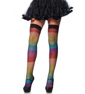 Regenboog Visnet Panty Elastische Top