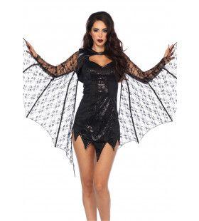 Kanten Vleermuis Vleugels