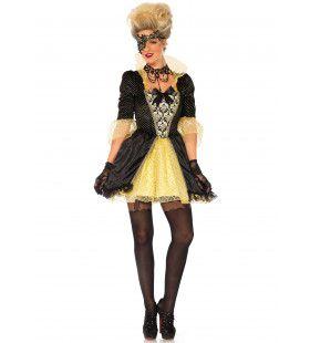 Hertogin De La Champagne Vrouw Kostuum