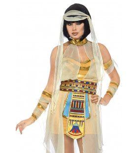 Klassieke Cleopatra Farao Egypte Vrouw Kostuum