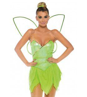 Bosfee Pretty Pixie Vrouw Kostuum