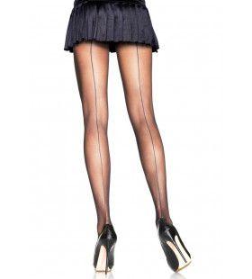 Panty Met Duidelijke Achternaad Kensi Zwart Plus Size