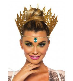 Gestanste Glitter Kroon Koningin